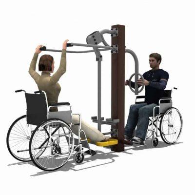 Lower Limbs Trainer Station BLH-1510équipement fitness pmr