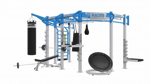 Cage crossfit  SILVER WALL MOUNT Line C