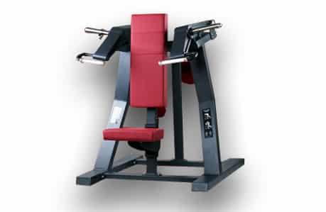 shoulder press red