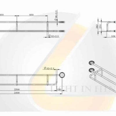 Module Handle Traction BLCRP-9
