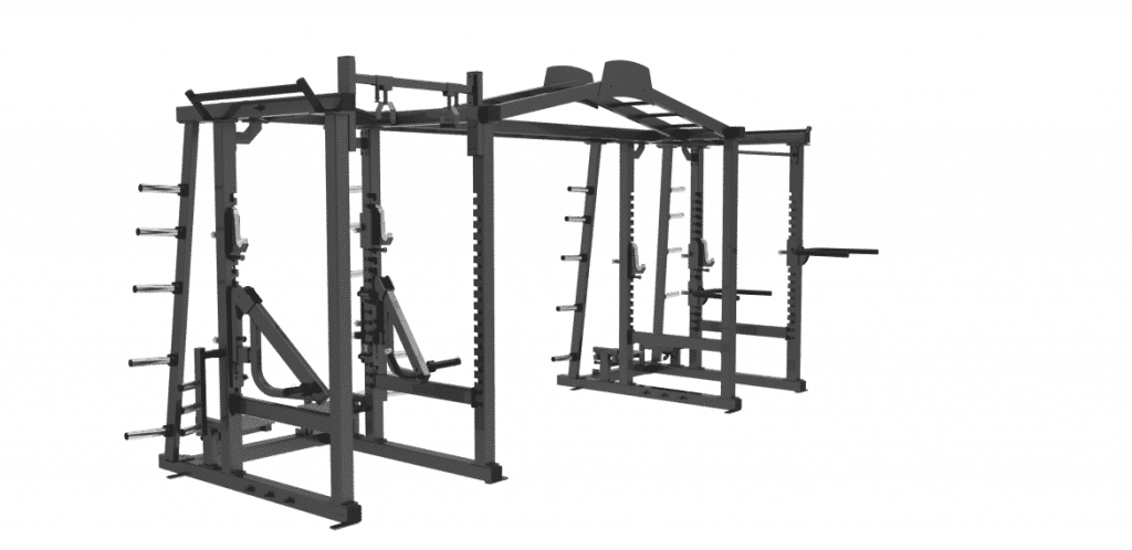 Cage Cross Training Double Rack