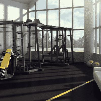 Cage Cross Training Double Rack LDM-11 (2)