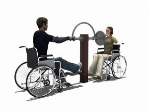 Lower Limbs Warm up Trainer & Arms Strength Trainer BLH-1505 équipement fitness pmr