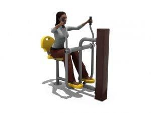 Air Skier BLH-1506 équipement fitness pmr