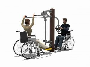 Lower Limbs Trainer Station BLH-1510 équipement fitness pmr
